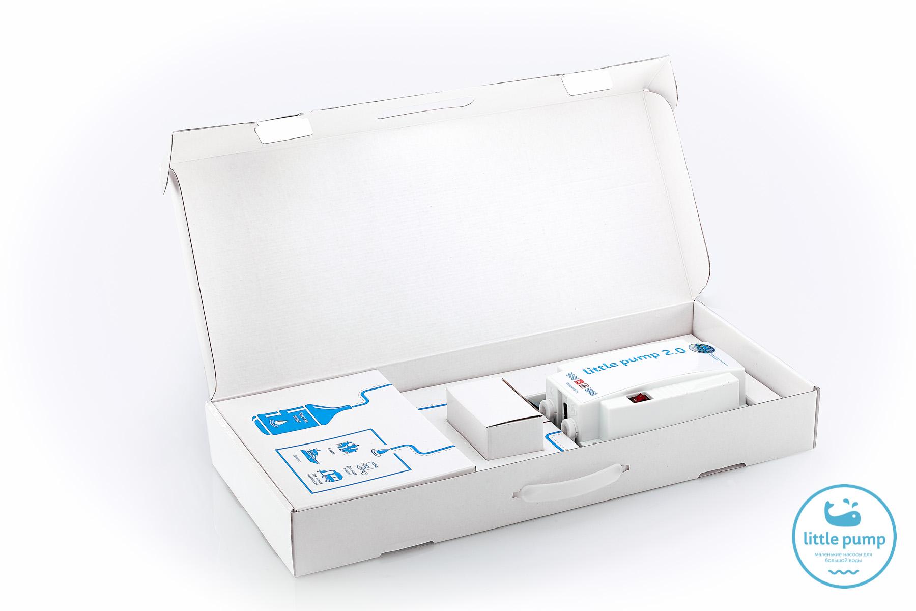 Уникальная упаковка-инструкция Помпа для бутилированной воды LittlePump